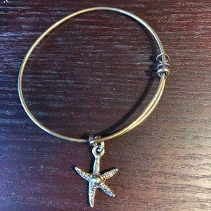 "Alex & Ani • ""Starfish"" Bracelet"